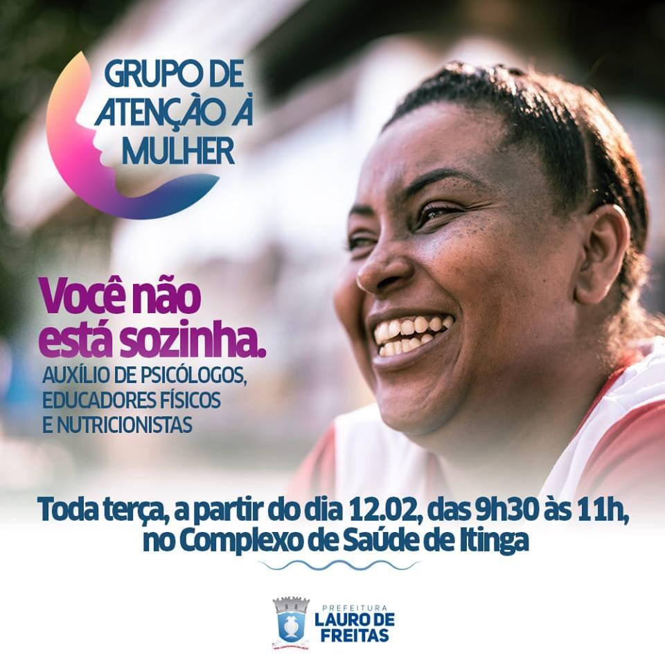 Complexo de Saúde da Itinga recebe Grupo de Atenção a Mulher