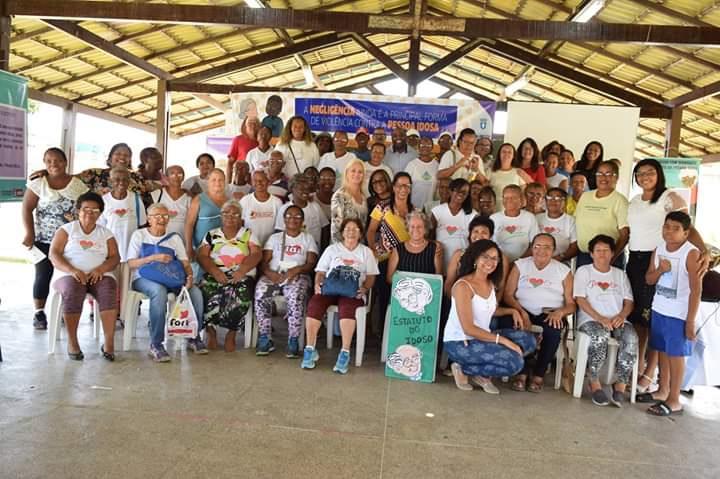 Segunda Pré-Conferência sobre os Direitos da Pessoa Idosa acontecendo em Lauro de Freitas