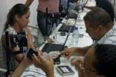 Secretário da SETTOP, Capitão Olinto fez a sua Biometria e parabenizou o atendimento dado à população