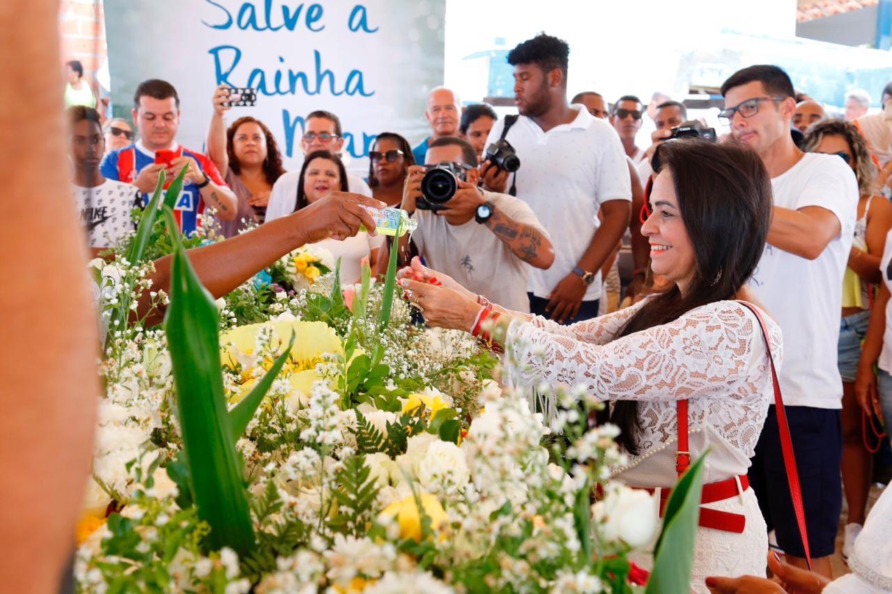 Festa para Iemanjá em Buraquinho renova a fé, tradição e resistência do povo