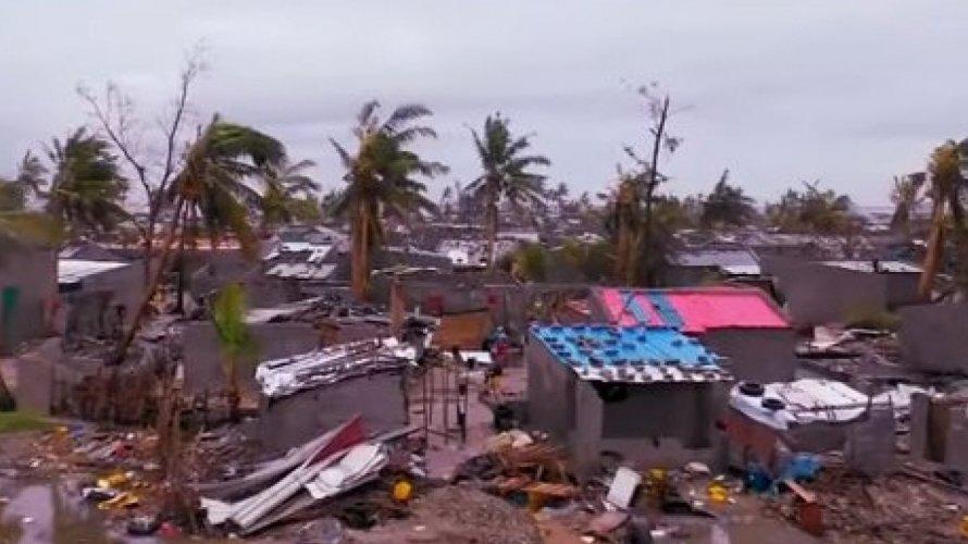 Sobe para 557 o número de mortos por ciclone no sul da África