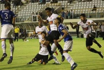 Vitória empata com o Confiança e segue sem vencer na Copa do Nordeste