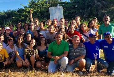 Prefeitura de Lauro de Freitas, através da Semarh realiza atividade de educação ambiental com crianças e jovens da IBVA