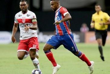 Bahia enfrenta o CRB pela Copa do Brasil, nesta terça