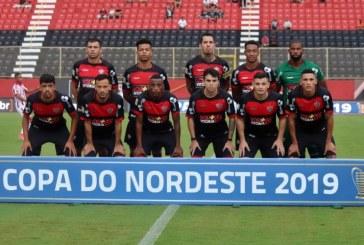 Vitória enfrenta o Fortaleza em jogo único das quartas de final da Copa do Nordeste
