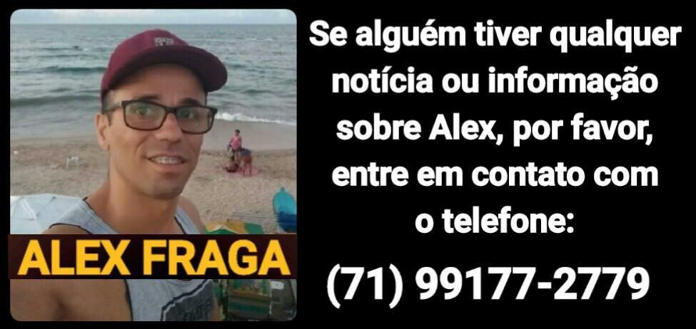 Alex Fraga tem seu corpo reconhecido por familiares no IML