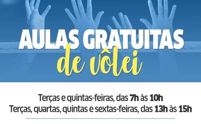 Prefeitura de Lauro de Freitas oferece aulas gratuitas de Vôlei