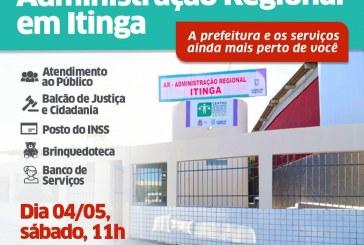 Lauro de Freitas inaugura neste sábado (4) a Administração Regional da Itinga