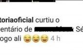 """Página oficial do Vitória no Instagram curte comentário em publicação que diz: """"Série C é logo ali"""""""