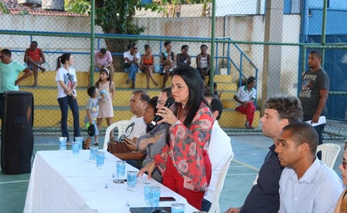 Prefeita cobra celeridade da Caixa na entrega do Residencial Santo Amaro de Ipitanga MCMV