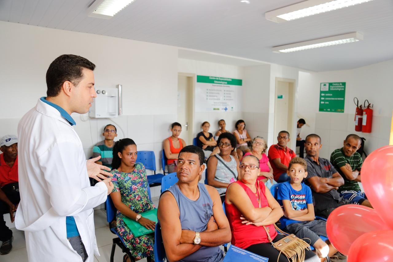 Maio Vermelho: Lauro de Freitas intensifica prevenção ao câncer de boca