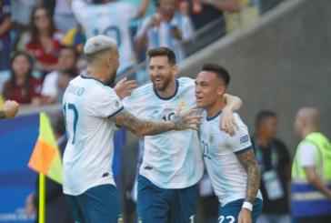 Argentina elimina a Venezuela no Maracanã e encara Seleção Brasileira nas semis