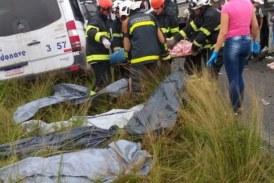Divulgados nomes das oito vítimas fatais de acidente na região de Feira de Santana