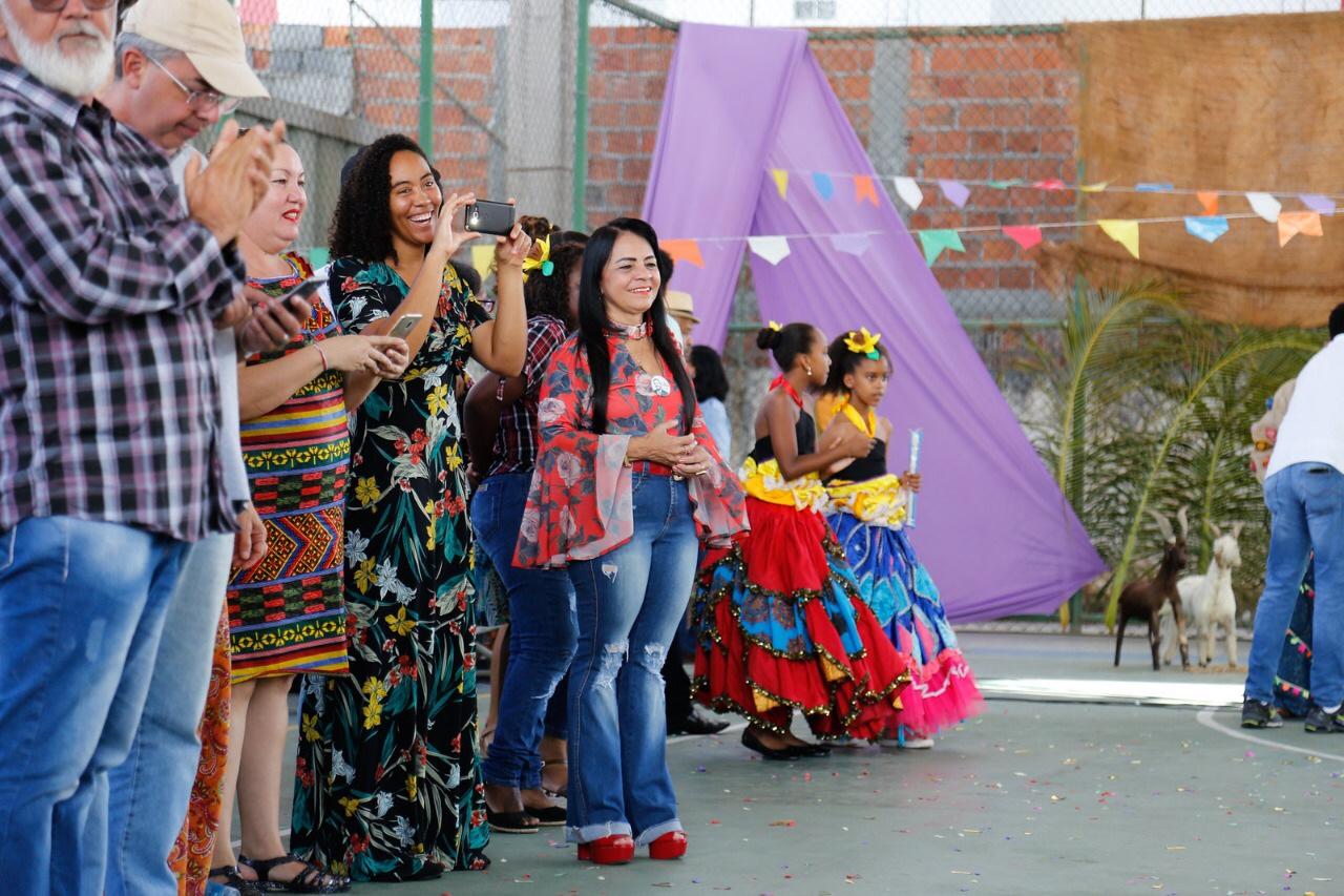 Prefeita anuncia concurso de quadrilhas juninas na rede municipal de ensino em 2020