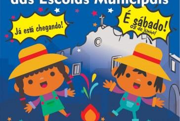Encontro Junino resgata tradição nas escolas municipais de Lauro de Freitas