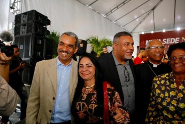 Governador Rui Costa inaugura nova sede do Neojiba no Parque do Queimado; prefeita Moema participou da inauguração
