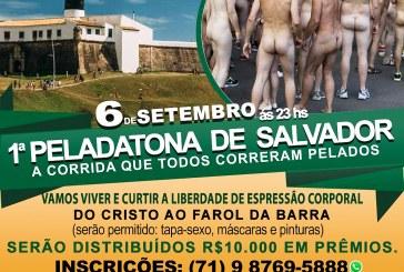 Caminhada nudista deve acontecer no Farol da Barra em setembro