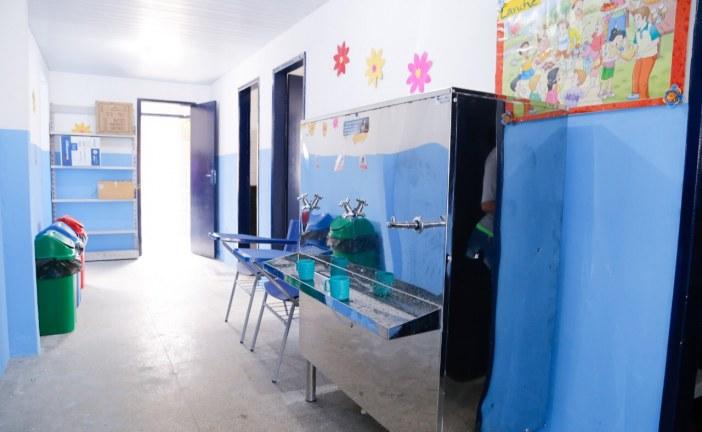 Prefeitura entrega anexo da Escola Municipal Jardim Ipitanga nesta quinta-feira (11)