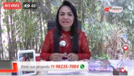 #PalavradeMulher: confira na íntegra como foi o programa de Moema no Facebook, que é um sucesso!