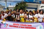 Desfile cívico cultural resgata memórias e encanta público nas ruas de Lauro de Freitas