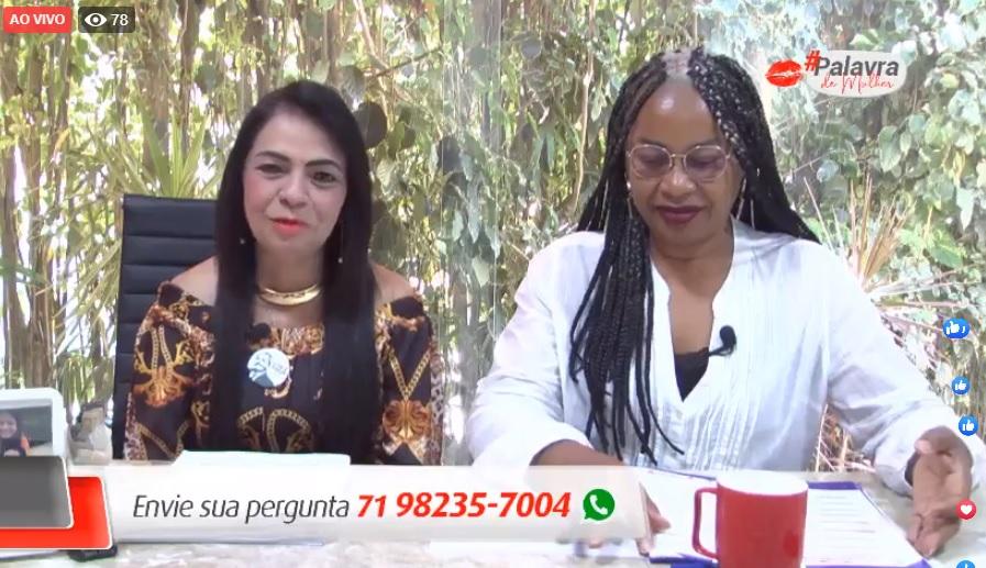 #PalavradeMulher: confira na íntegra como foi o programa de Moema, que teve como convidada especial, a deputada estadual, Olívia Santana