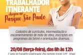 """Parque São Paulo recebe programa """"Casa do Trabalhador itinerante: essa casa é sua"""""""