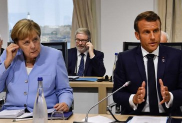 TV francesa mostra Macron, Piñera e Merkel criticando Bolsonaro