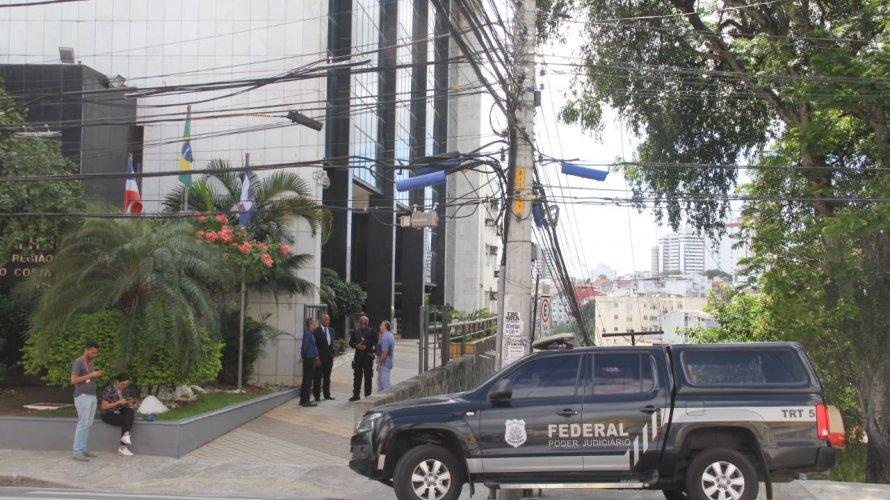 Cinco desembargadores do TRT5 são alvo de investigação da Polícia Federal