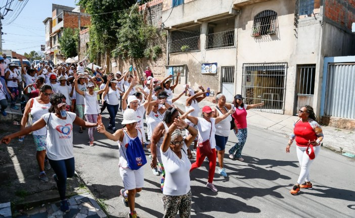 Pacientes da USF Jardim Independência participam de Circuito que incentiva práticas esportivas