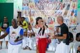 Moema participa do XIII Encontro Nacional de Capoeira e de batizado de capoeira do Mestre Sérgio
