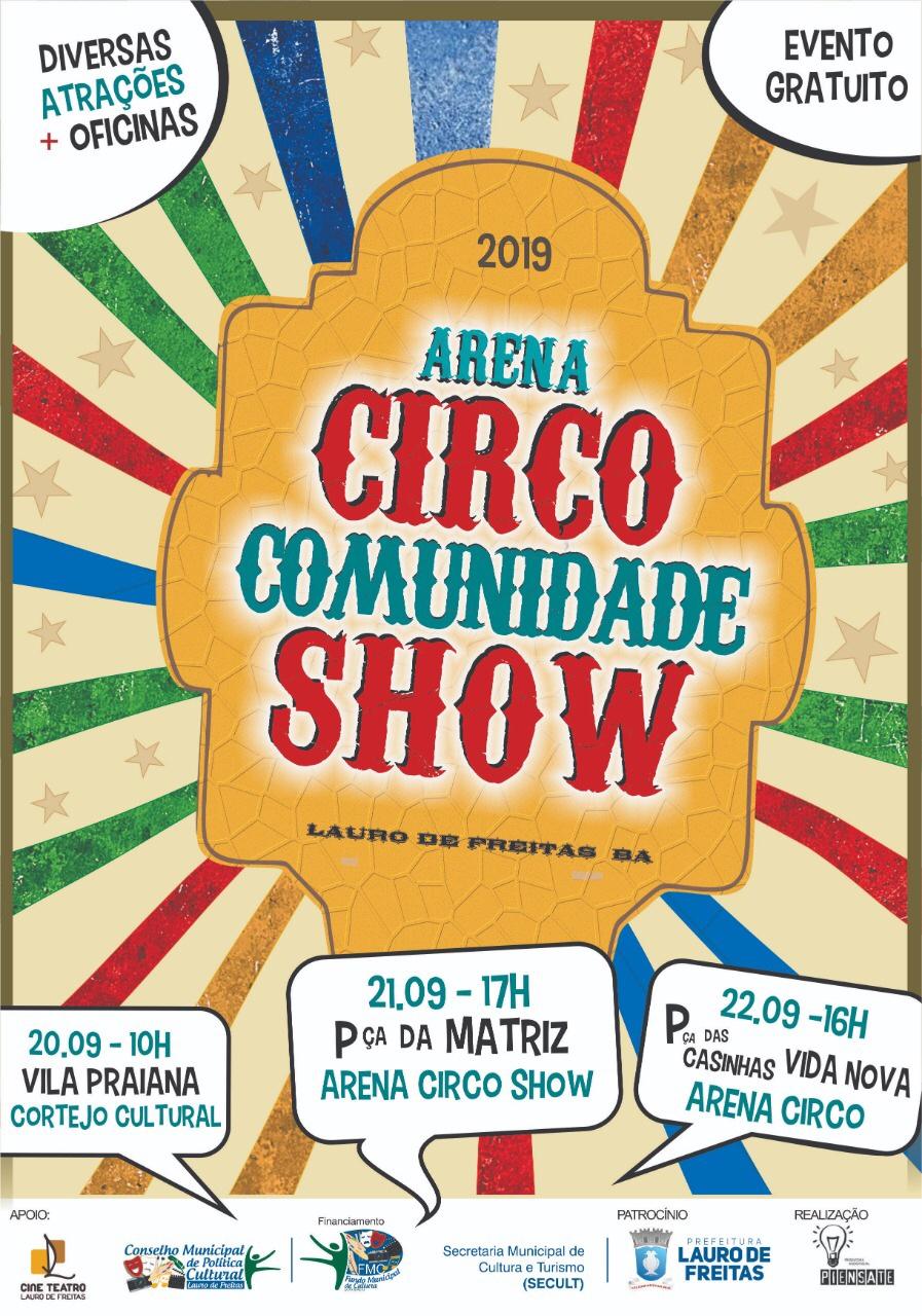 """Lançamento do Cordel """"A Grande Lona de Ipitanga""""  acontece no próximo sábado em Lauro de Freitas."""