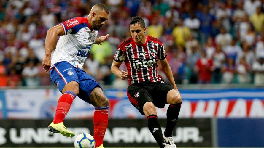 Bahia empata com o São Paulo na Fonte Nova