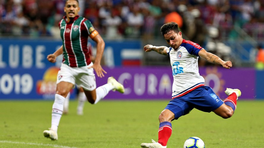 Na luta para retornar ao G-6, Bahia visita o Fluminense neste sábado (12)