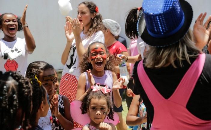 USF do Tarumã comemora Dia das Crianças e a marca de 7 mil atendimentos em três meses