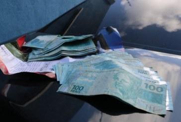 Operação na ASPRA apreende R$ 5 mil e munições dentro de carro alugado pela AL-BA