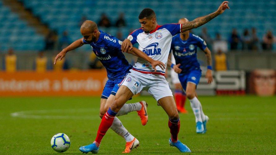 Fora de casa, Bahia vence o Grêmio com gol de pênalti