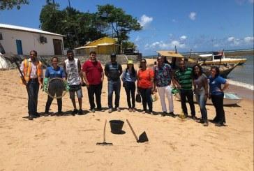 Equipe da Semarh participa em Praia do Forte de capacitação sobre petróleo