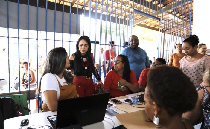 Atualização do Bolsa Família e cartão do SUS foram os serviços mais procurados no Prefeitura em Ação