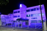 Iluminação azul cobre equipamentos da saúde no mês de prevenção ao câncer de próstata