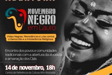 Novembro Negro em Lauro de Freitas promove Encontro dos Povos de Matriz Africana no dia 14