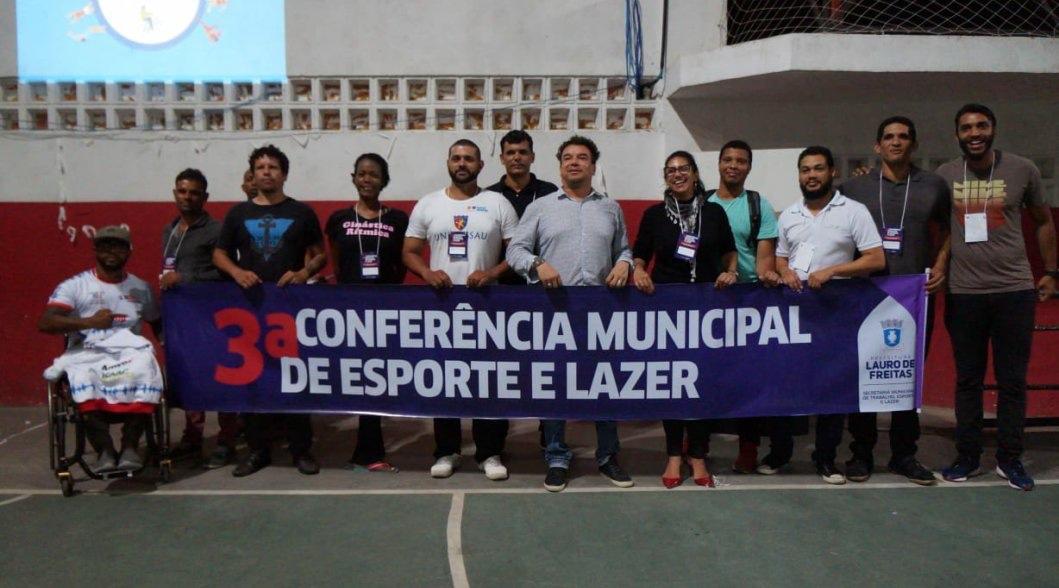 Iniciada as pré-conferências de Esporte e Lazer em Lauro de Freitas