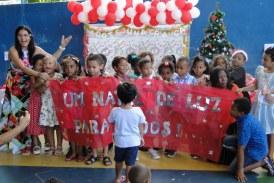 Natal Luz associa educação e solidariedade na Creche Escola Nossa Senhora das Graças
