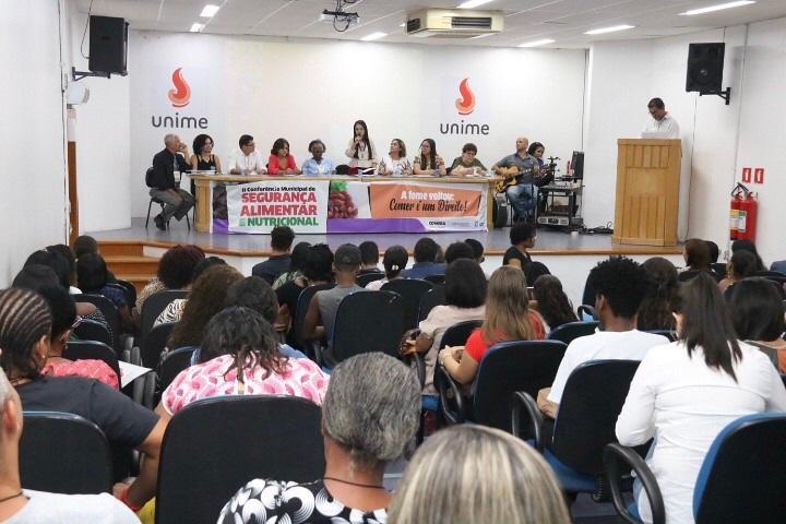 Referência em Segurança Alimentar, Lauro de Freitas destaca combate à fome em Conferência Municipal