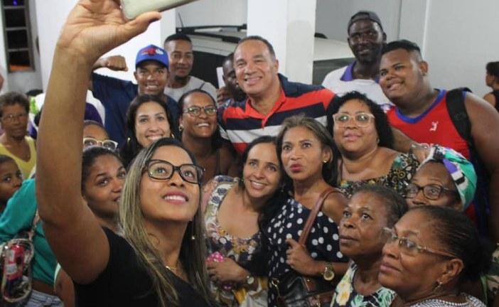 Vereador César reuniu-se com suas lideranças, na noite desta sexta-feira, (13)