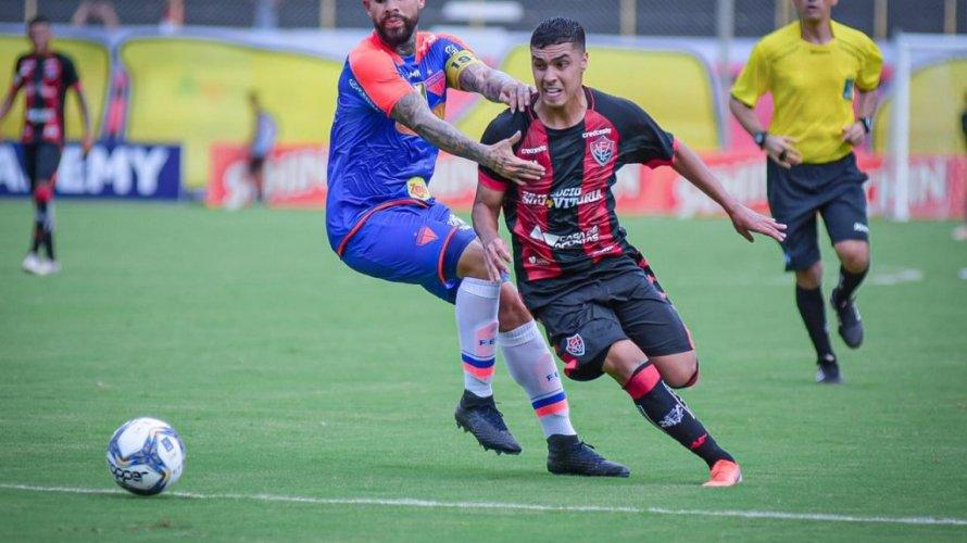 Vitória empata com o Fortaleza pela estreia da Copa do Nordeste