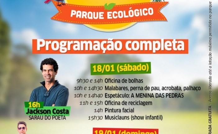 Magary Lord encerra o Trilha das Artes no Parque Ecológico de Lauro de Freitas neste domingo (19)