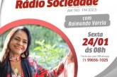 Moema nesta sexta, (24), às 8h no Balanço Geral da Rádio Sociedade com Varela. Ouça, assista e participe; saiba como