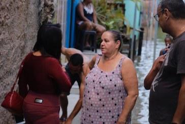 Lauro de Freitas reforça ações de apoio às famílias afetadas pelas chuvas
