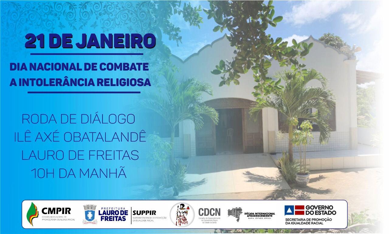 Dia Nacional de Combate à Intolerância Religiosa será marcado por atos na RMS