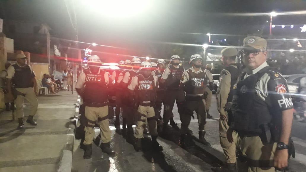 52ª CIPM garante a segurança no show do Padre Alessandro Campos na Praça da Matriz